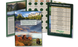 National Park Quarters Colorful Folder 2010-2021