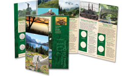National Park Quarters Colorful Folder 2011